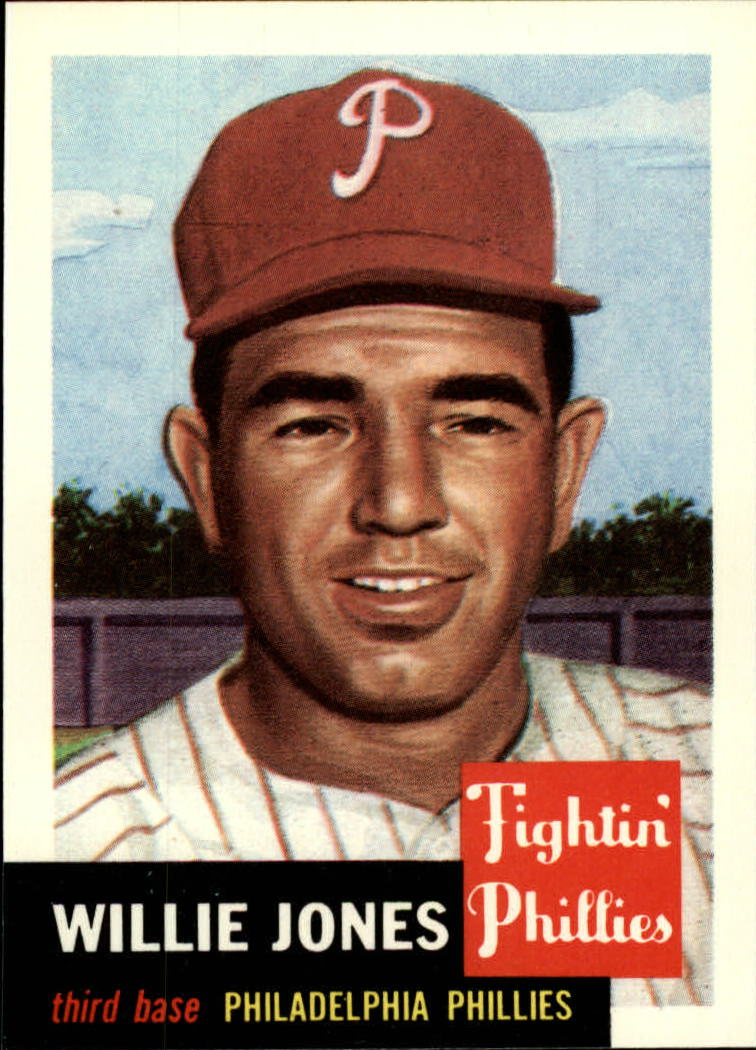 1991 Topps Archives 1953 #88 Willie Jones