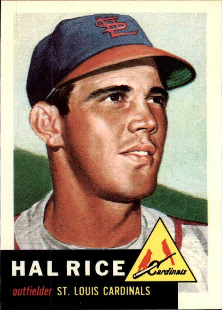 1991 Topps Archives 1953 #93 Hal Rice