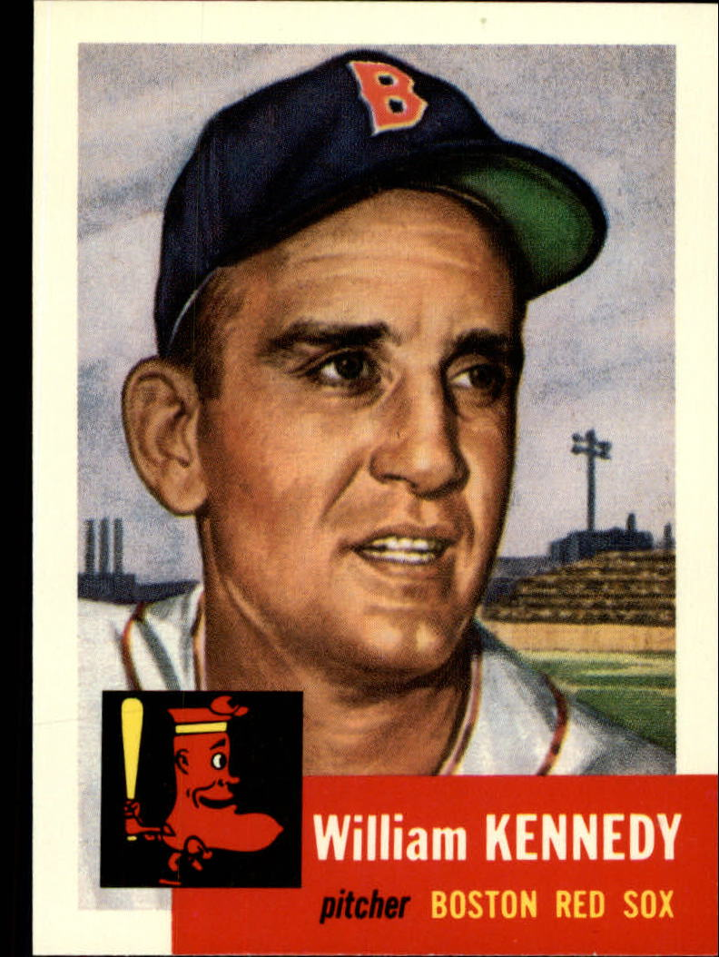 1991 Topps Archives 1953 #94 Bill Kennedy front image