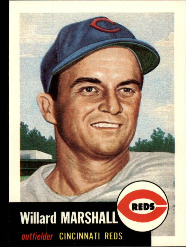 1991 Topps Archives 1953 #95 Willard Marshall front image