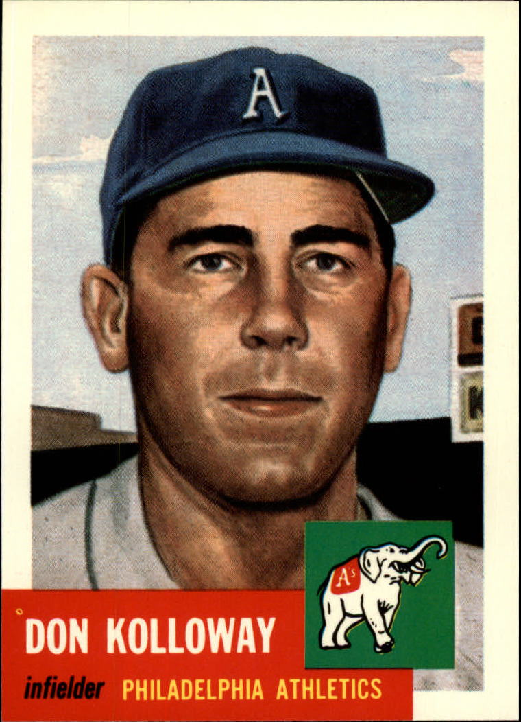 1991 Topps Archives 1953 #97 Don Kolloway front image