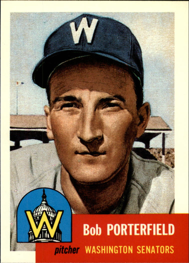 1991 Topps Archives 1953 #108 Bob Porterfield