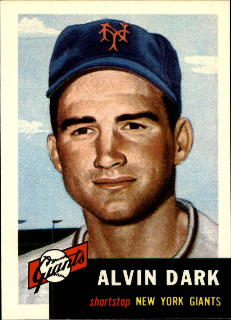 1991 Topps Archives 1953 #109 Alvin Dark