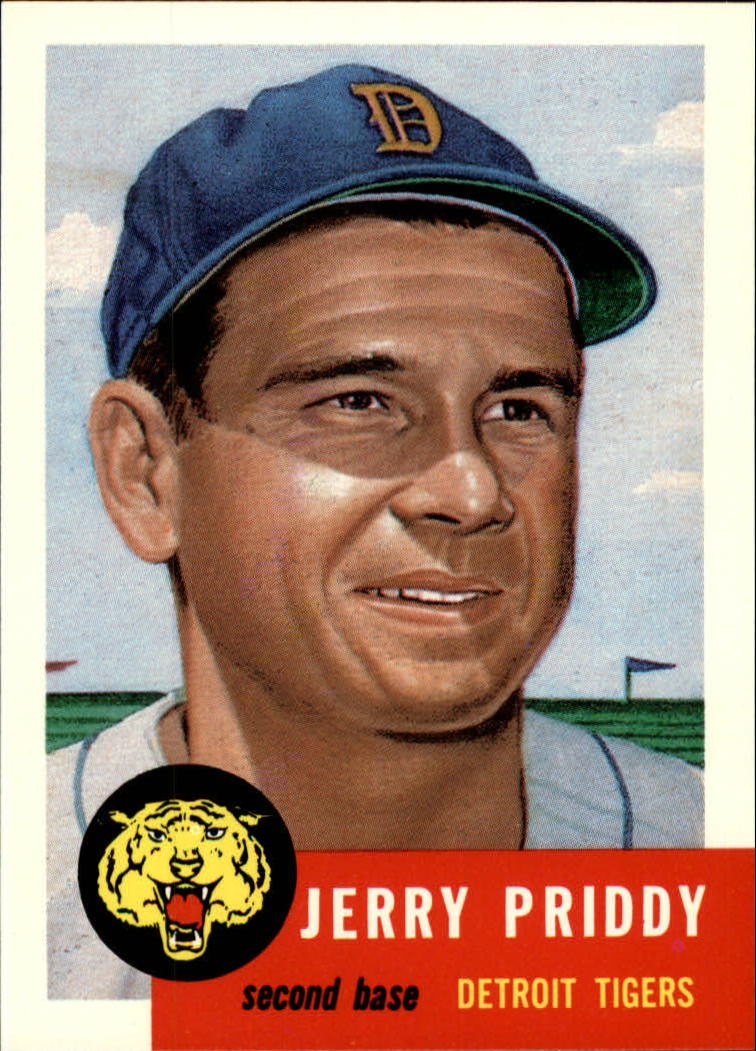 1991 Topps Archives 1953 #113 Jerry Priddy