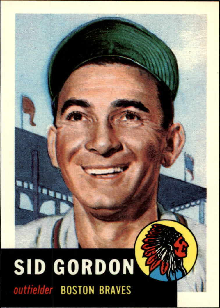 1991 Topps Archives 1953 #117 Sid Gordon front image