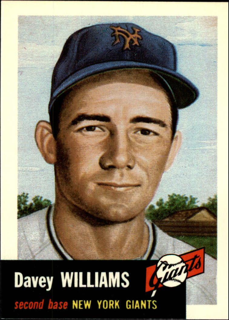 1991 Topps Archives 1953 #120 Davey Williams