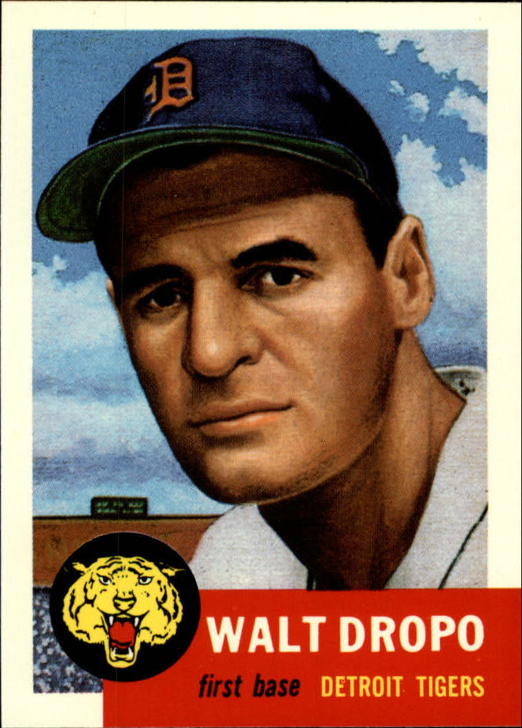 1991 Topps Archives 1953 #121 Walt Dropo