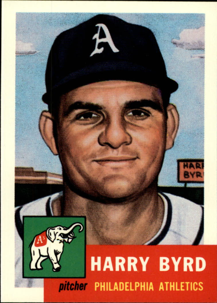 1991 Topps Archives 1953 #131 Harry Byrd front image