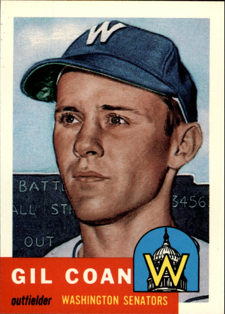 1991 Topps Archives 1953 #133 Gil Coan