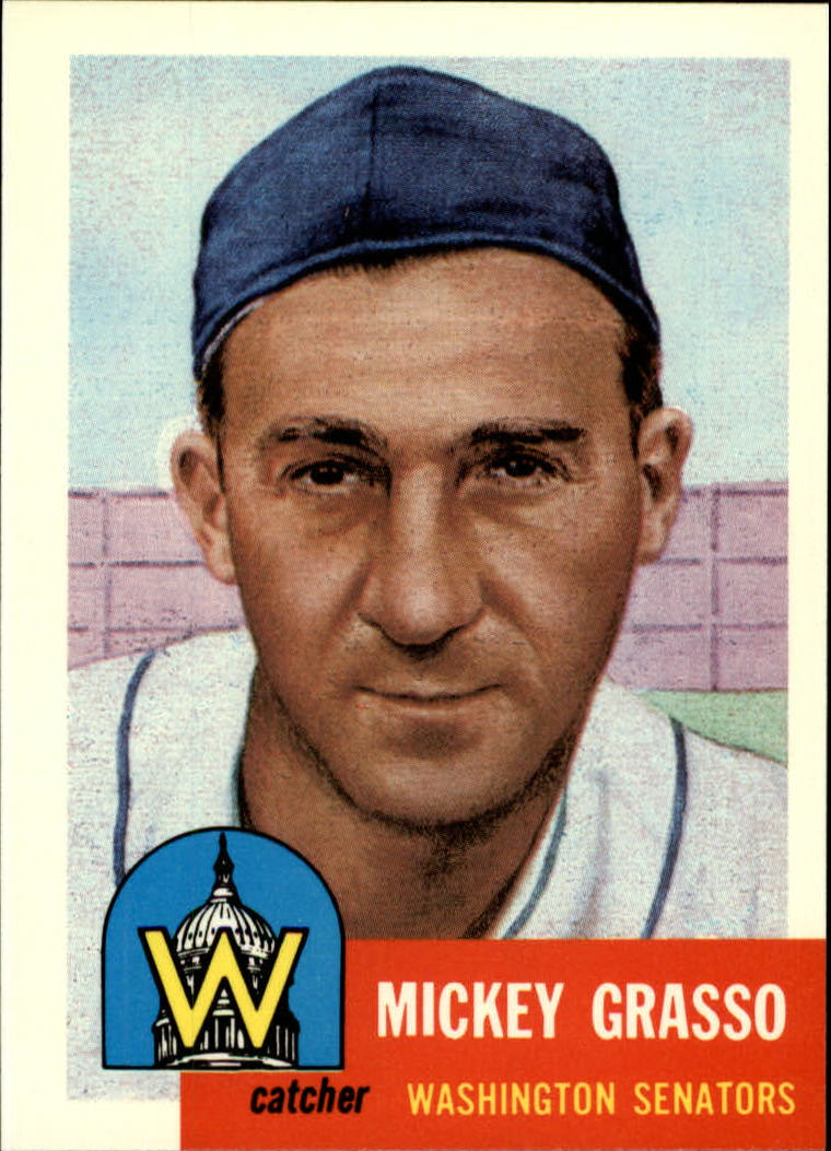 1991 Topps Archives 1953 #148 Mickey Grasso