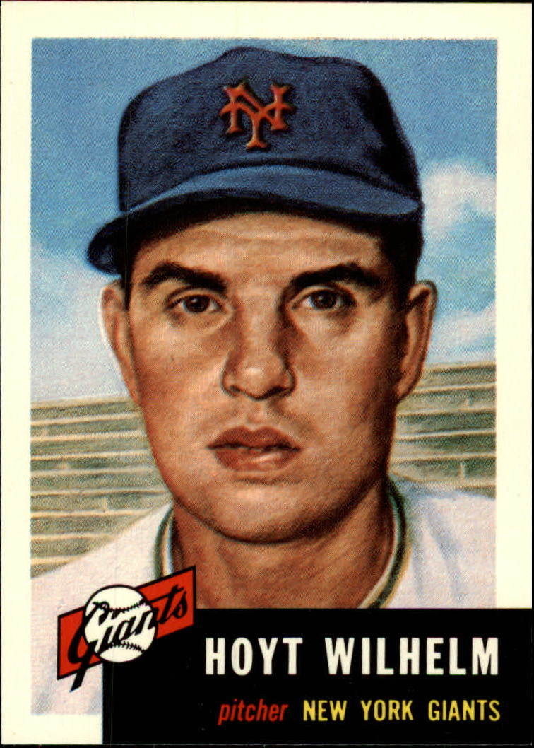 1991 Topps Archives 1953 #151 Hoyt Wilhelm