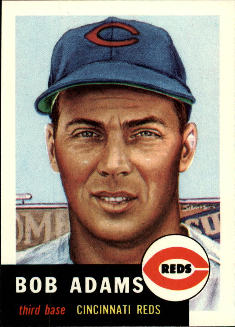 1991 Topps Archives 1953 #152 Bob Adams front image