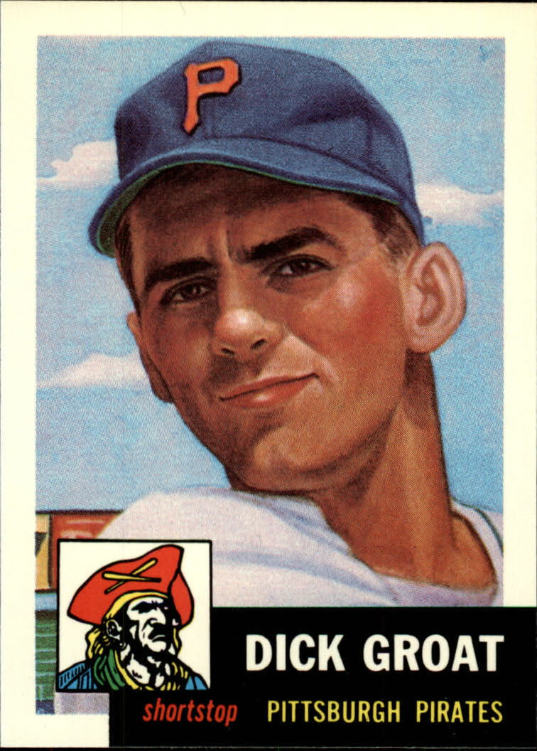 1991 Topps Archives 1953 #154 Dick Groat