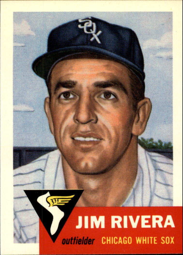 1991 Topps Archives 1953 #156 Jim Rivera front image