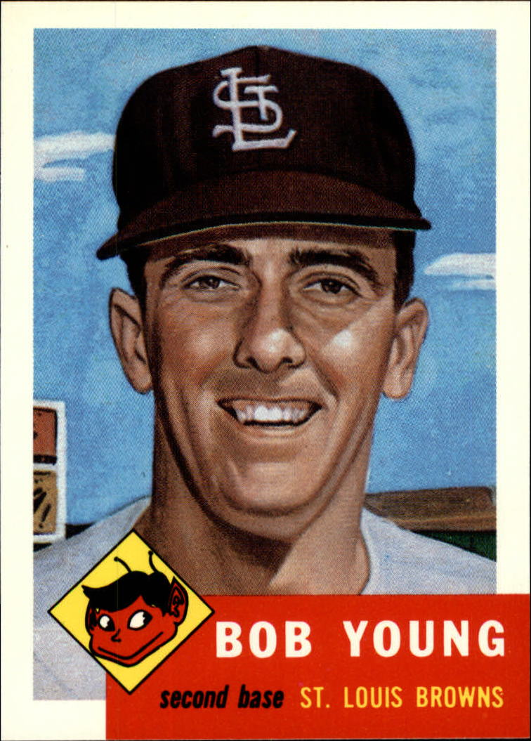 1991 Topps Archives 1953 #160 Bob Young front image