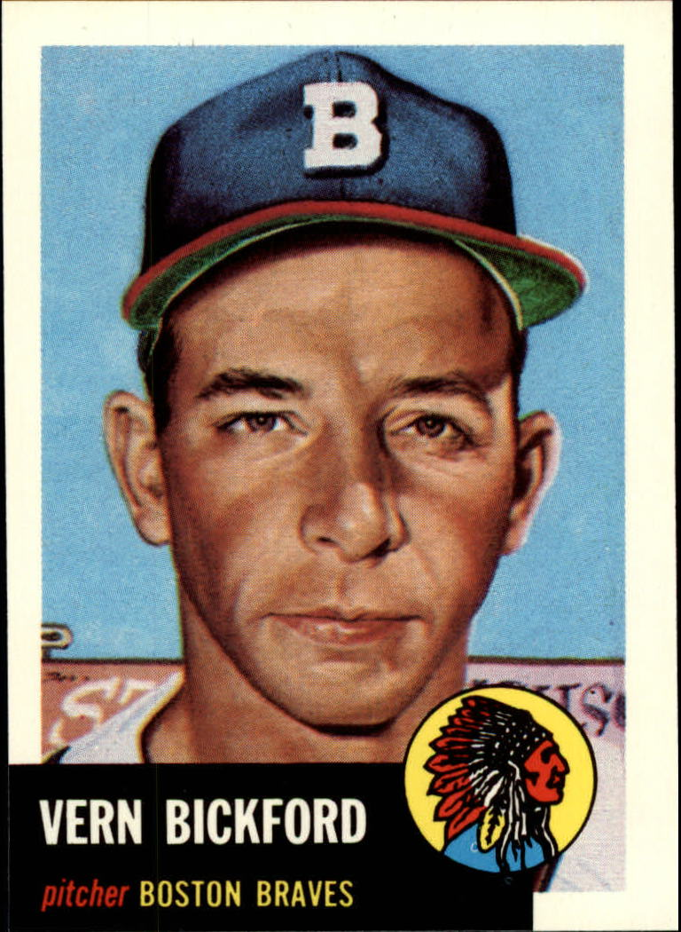 1991 Topps Archives 1953 #161 Vern Bickford