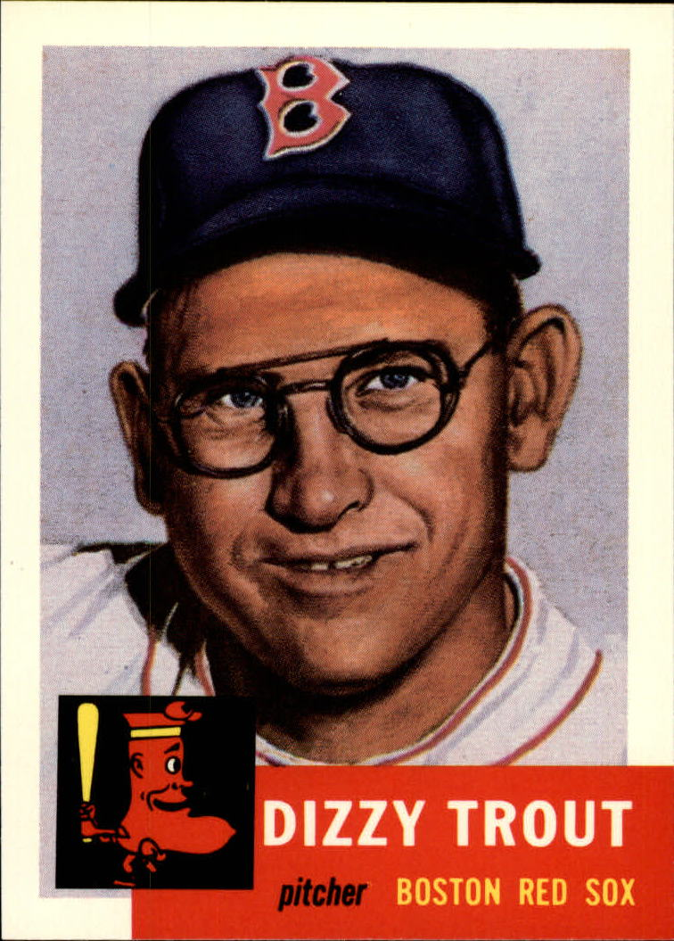1991 Topps Archives 1953 #169 Dizzy Trout