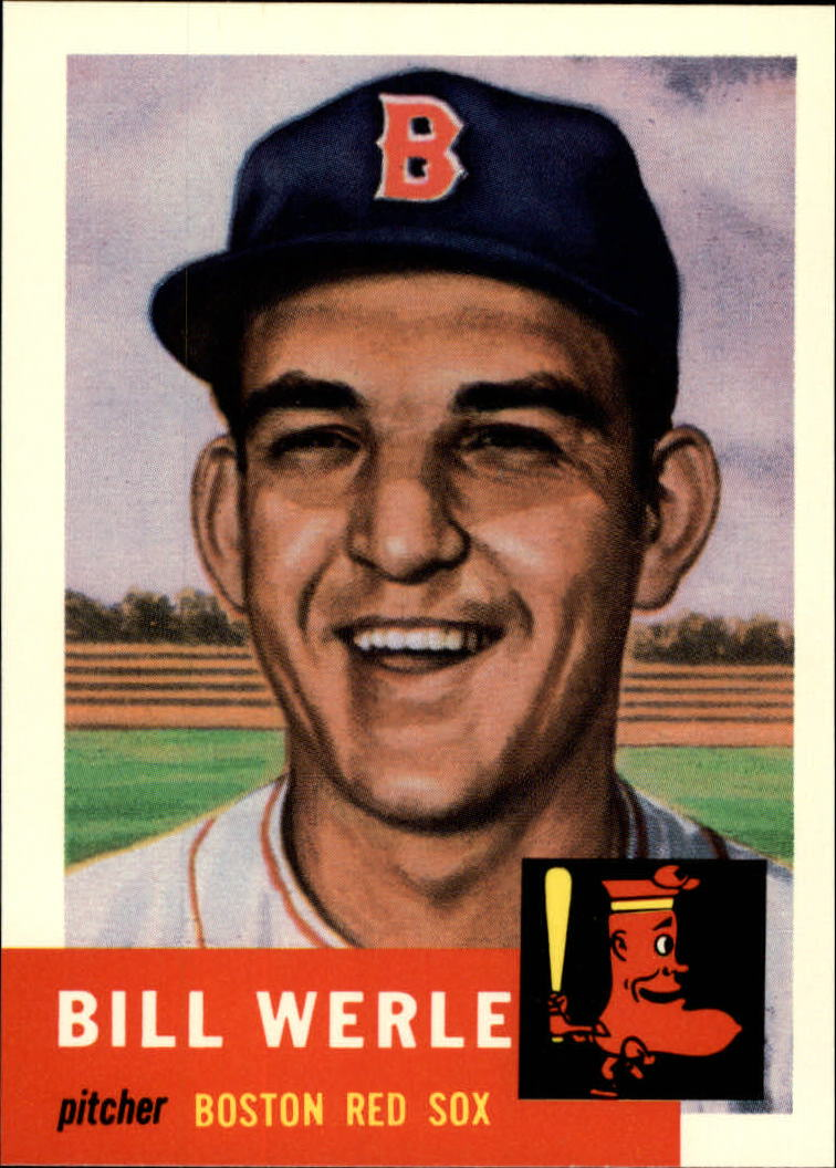 1991 Topps Archives 1953 #170 Bill Werle