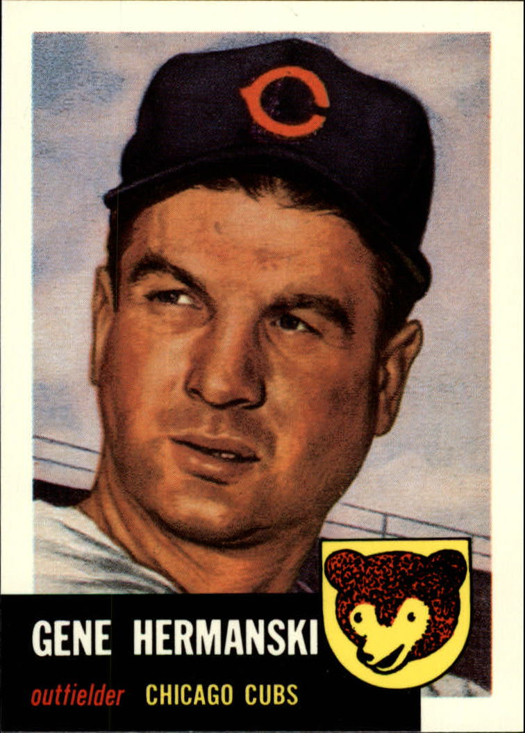 1991 Topps Archives 1953 #179 Gene Hermanski