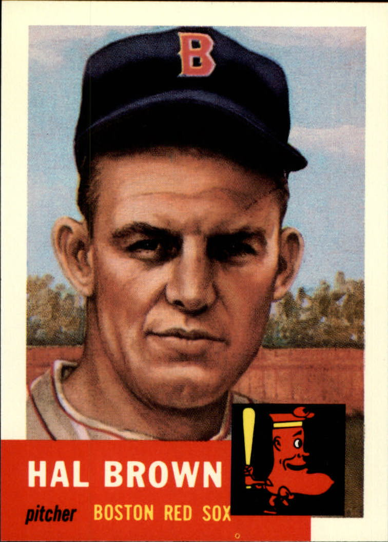 1991 Topps Archives 1953 #184 Hal Brown