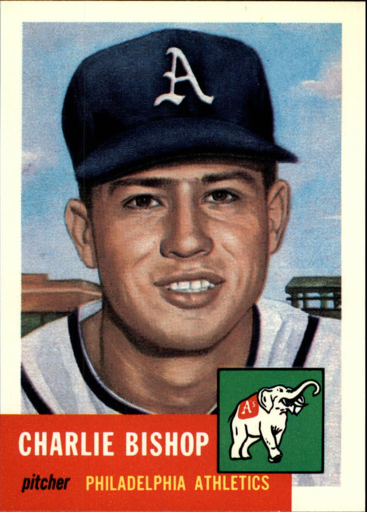 1991 Topps Archives 1953 #186 Charlie Bishop