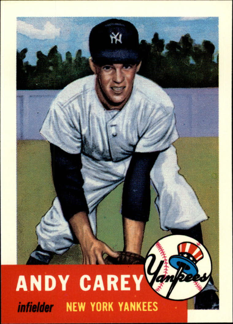 1991 Topps Archives 1953 #188 Andy Carey