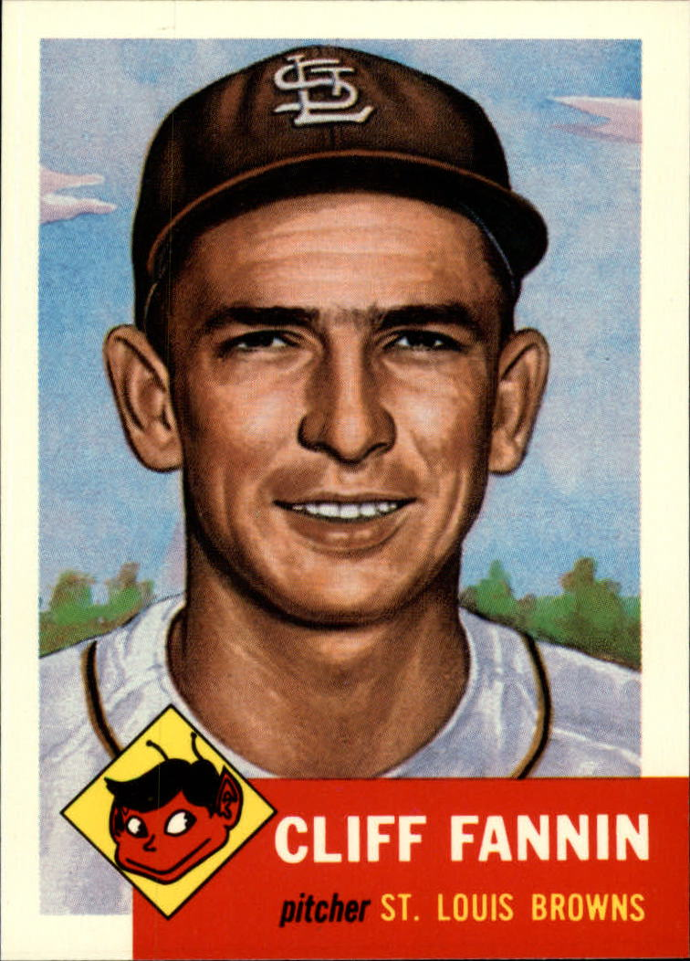 1991 Topps Archives 1953 #203 Cliff Fannin