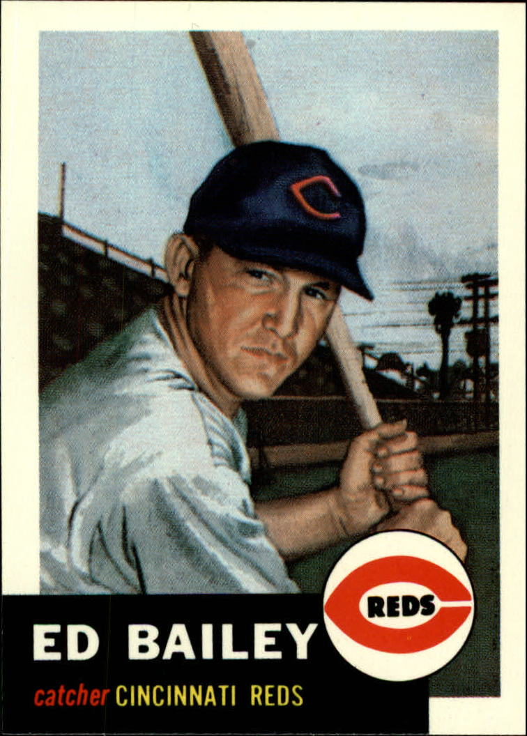 1991 Topps Archives 1953 #206 Ed Bailey front image
