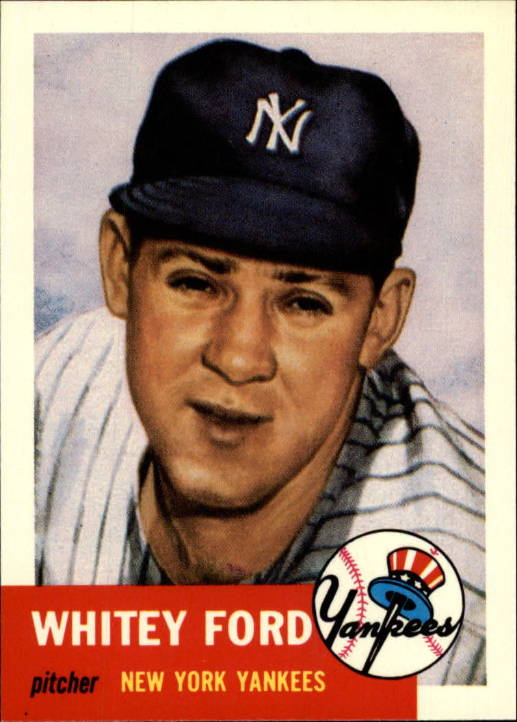 1991 Topps Archives 1953 #207 Whitey Ford
