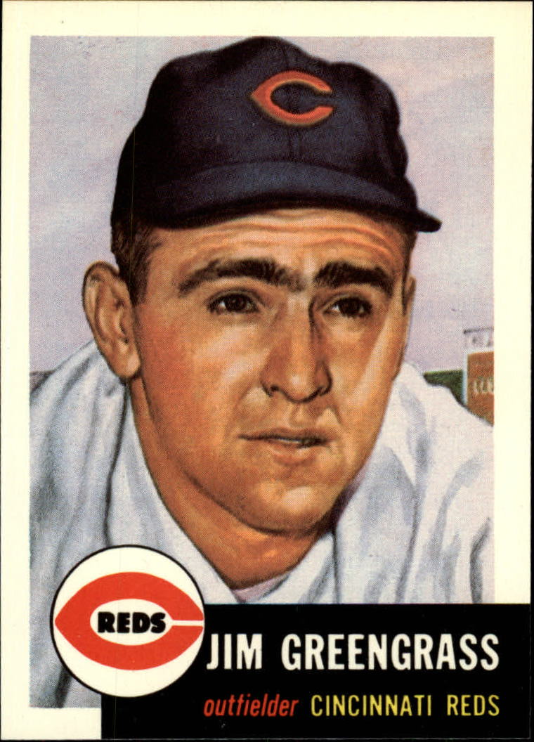 1991 Topps Archives 1953 #209 Jim Greengrass