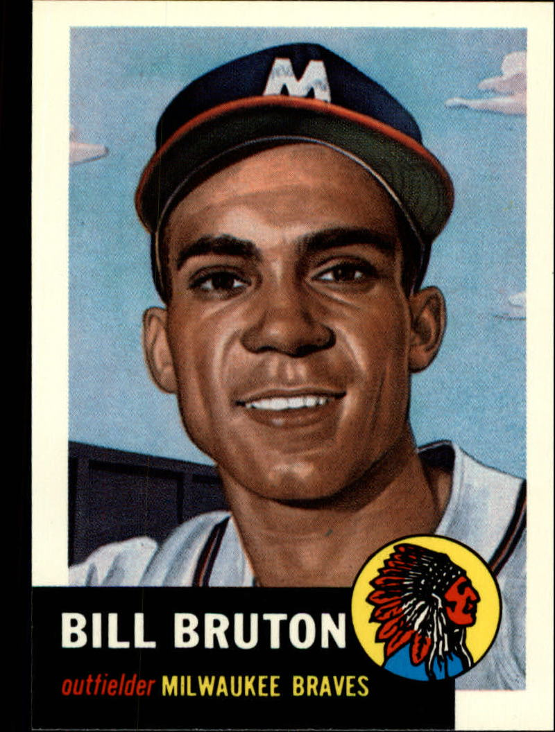 1991 Topps Archives 1953 #214 Bill Bruton
