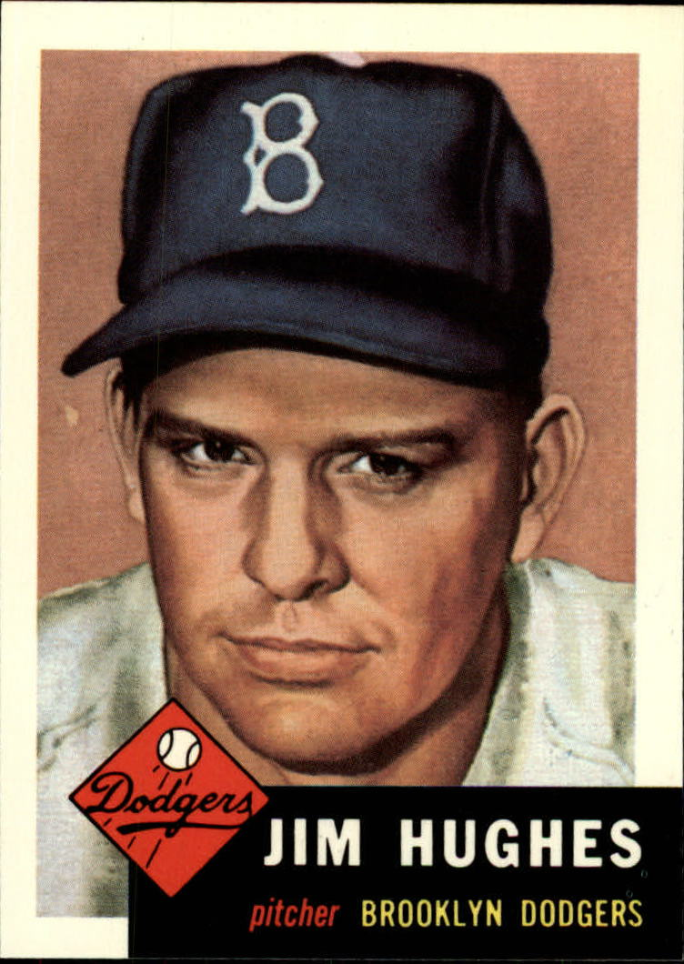 1991 Topps Archives 1953 #216 Jim Hughes