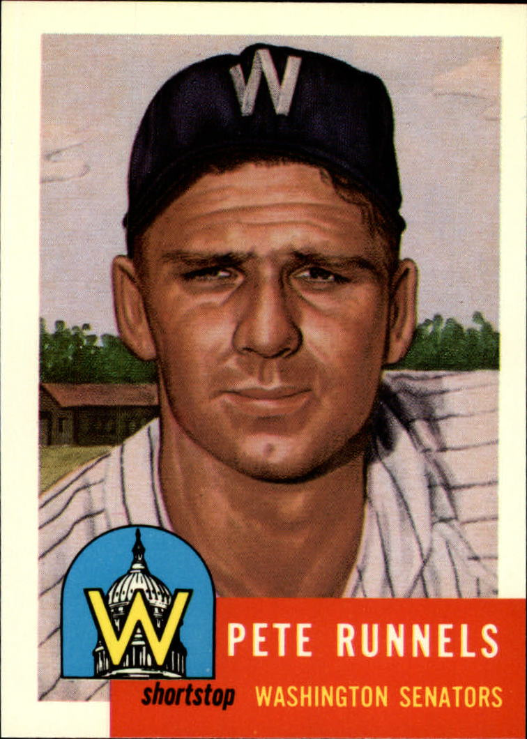 1991 Topps Archives 1953 #219 Pete Runnels UER