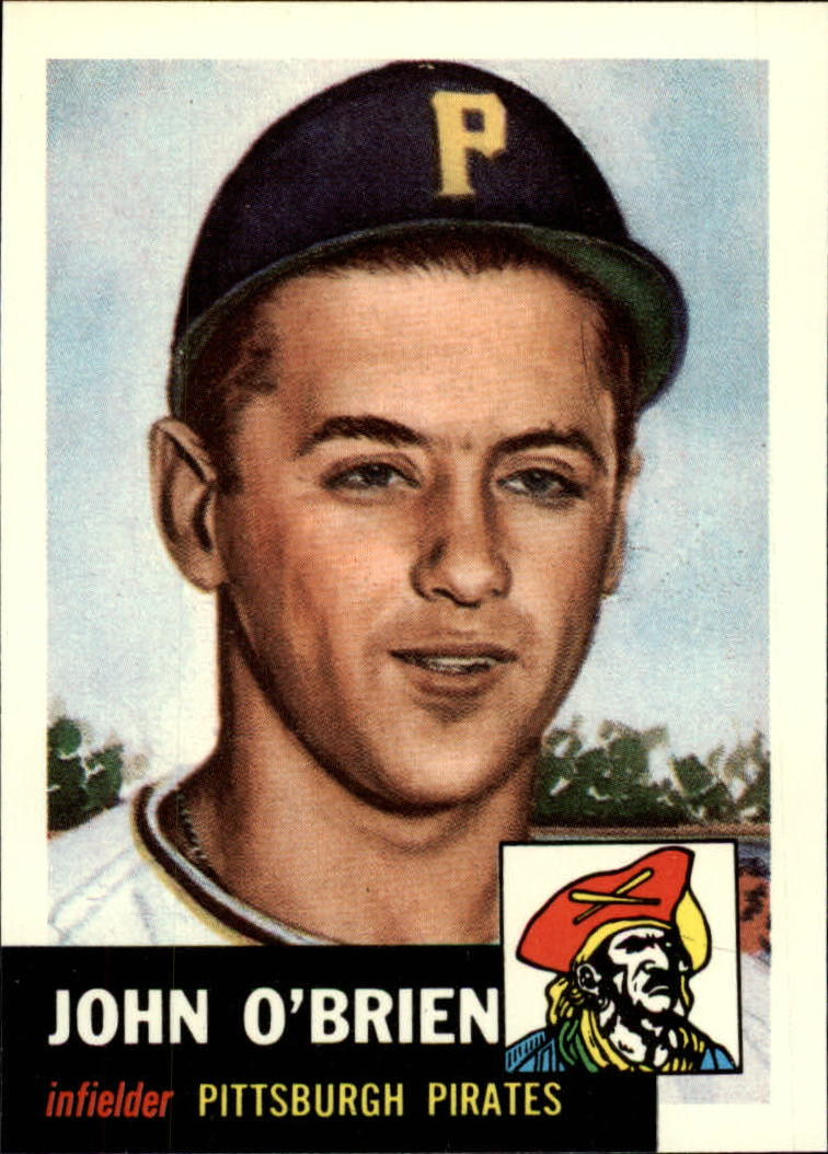 1991 Topps Archives 1953 #223 Johnny O'Brien
