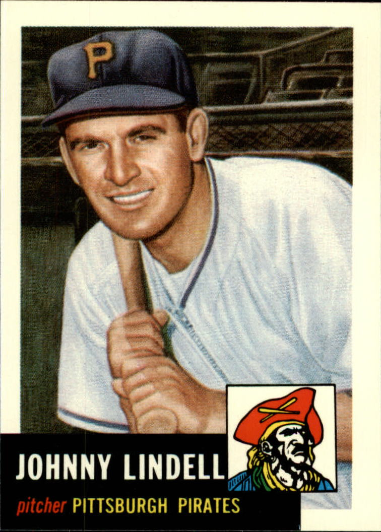 1991 Topps Archives 1953 #230 Johnny Lindell front image