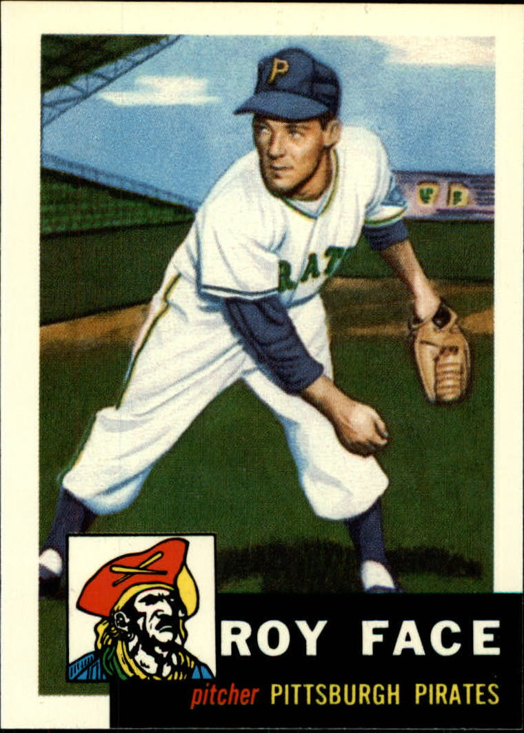 1991 Topps Archives 1953 #246 Roy Face