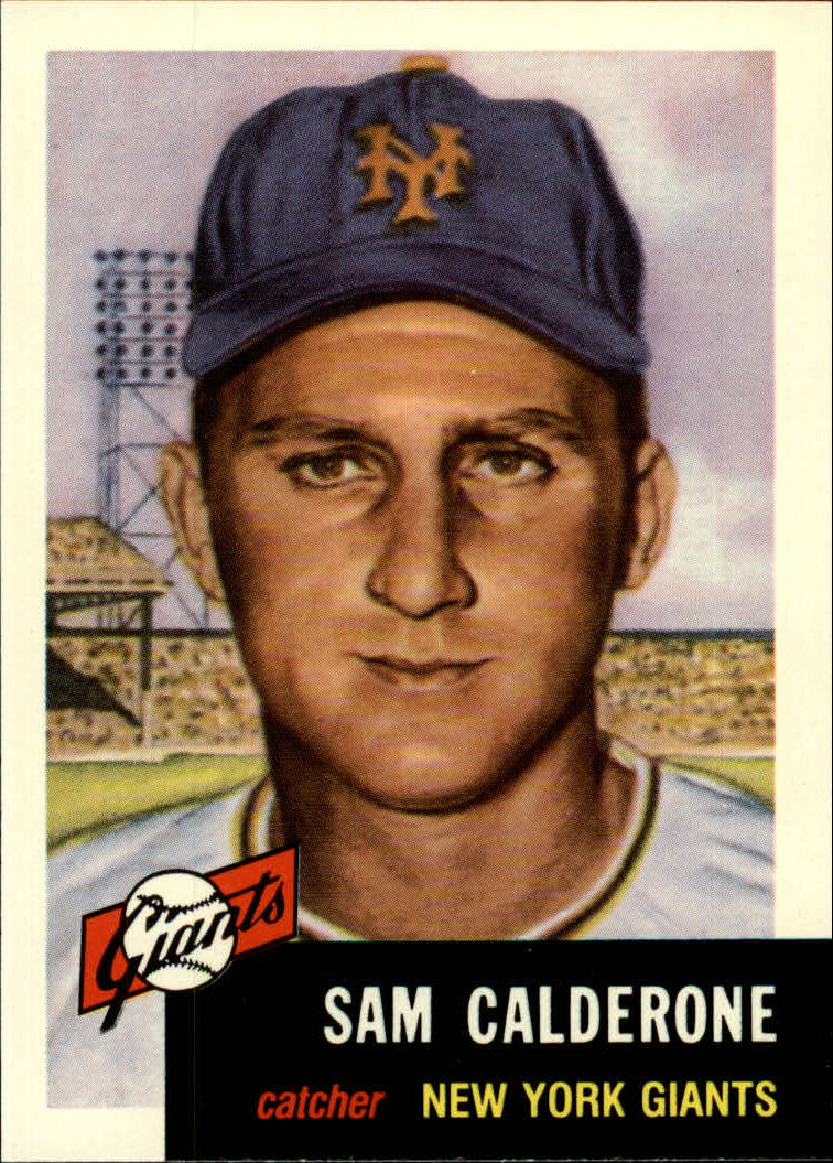 1991 Topps Archives 1953 #260 Sam Calderone