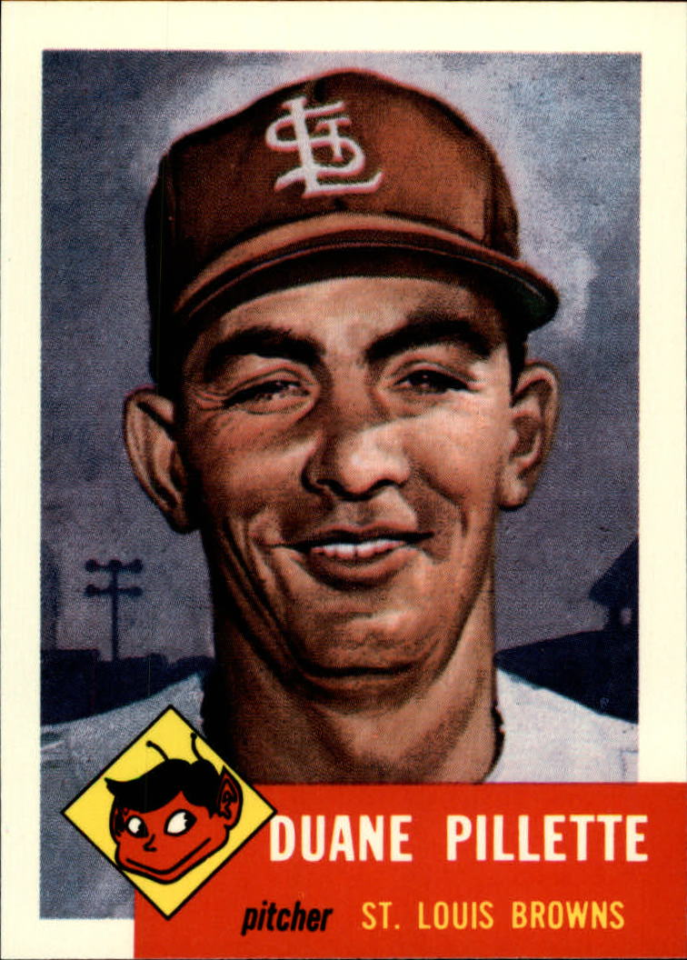 1991 Topps Archives 1953 #269 Duane Pillette front image