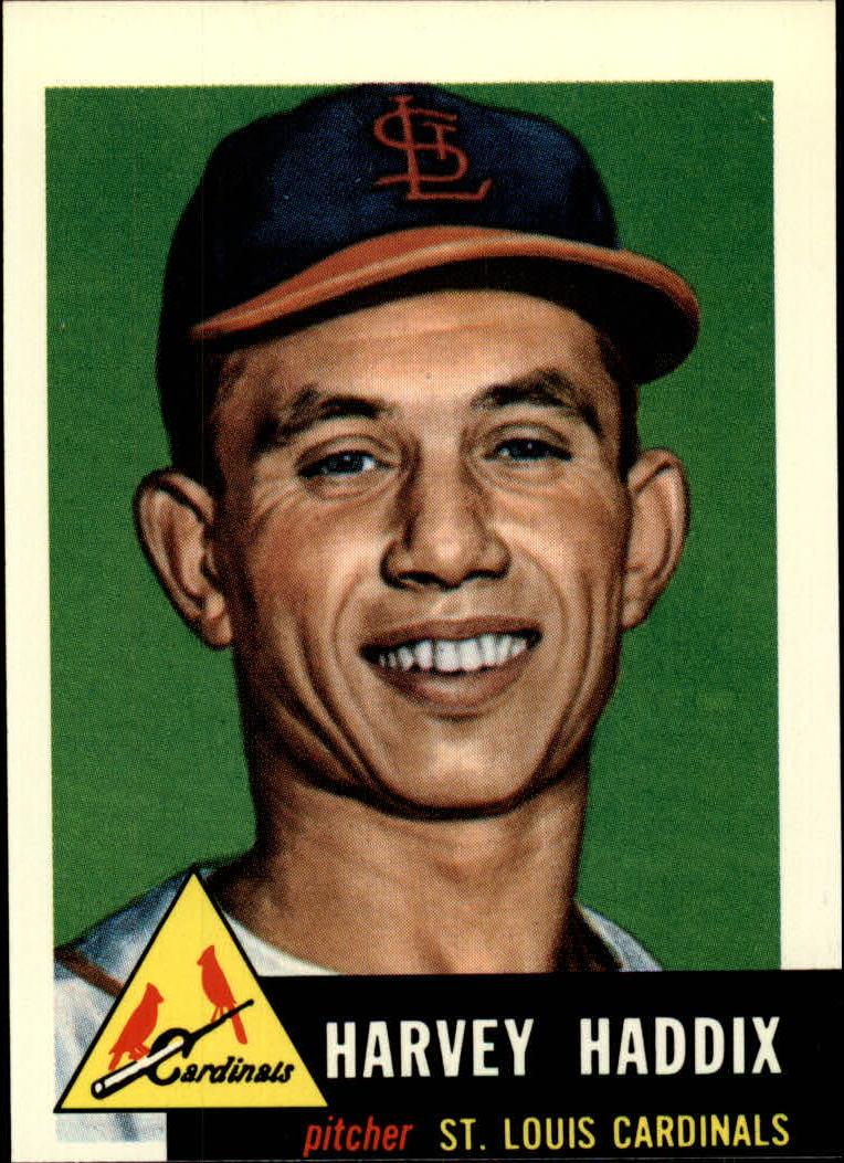 1991 Topps Archives 1953 #273 Harvey Haddix
