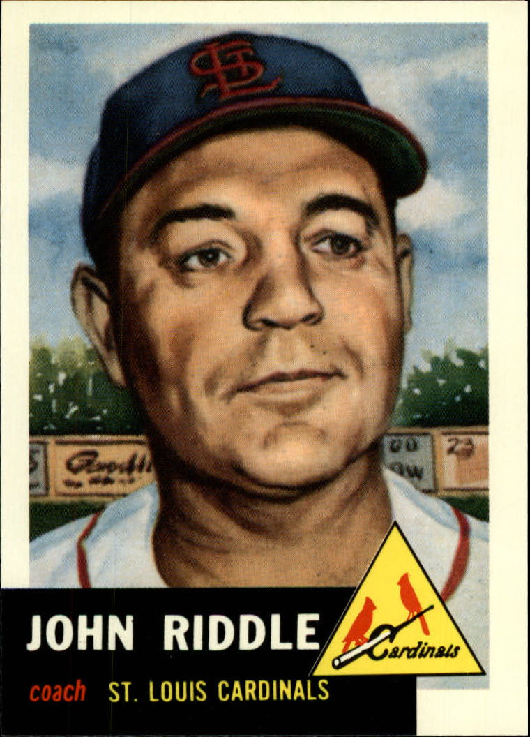 1991 Topps Archives 1953 #274 John Riddle front image