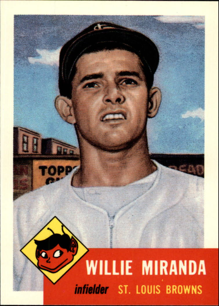 1991 Topps Archives 1953 #278 Willie Miranda