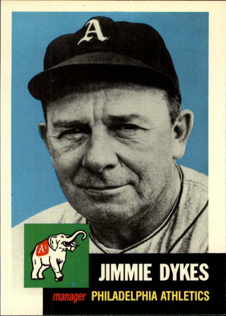 1991 Topps Archives 1953 #281 Jimmie Dykes MG