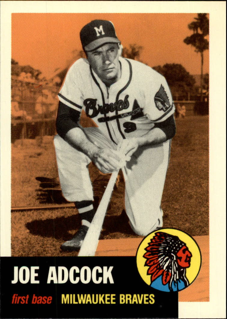 1991 Topps Archives 1953 #285 Joe Adcock