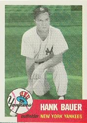 1991 Topps Archives 1953 #290 Hank Bauer