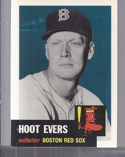 1991 Topps Archives 1953 #291 Hoot Evers front image
