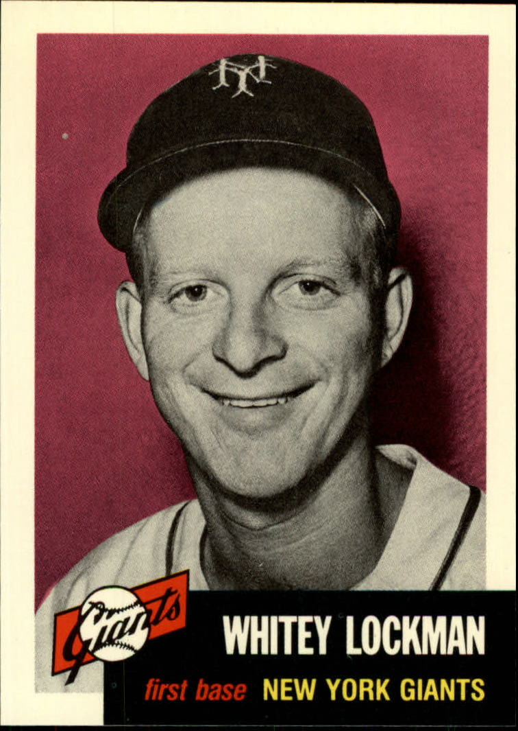 1991 Topps Archives 1953 #292 Whitey Lockman front image