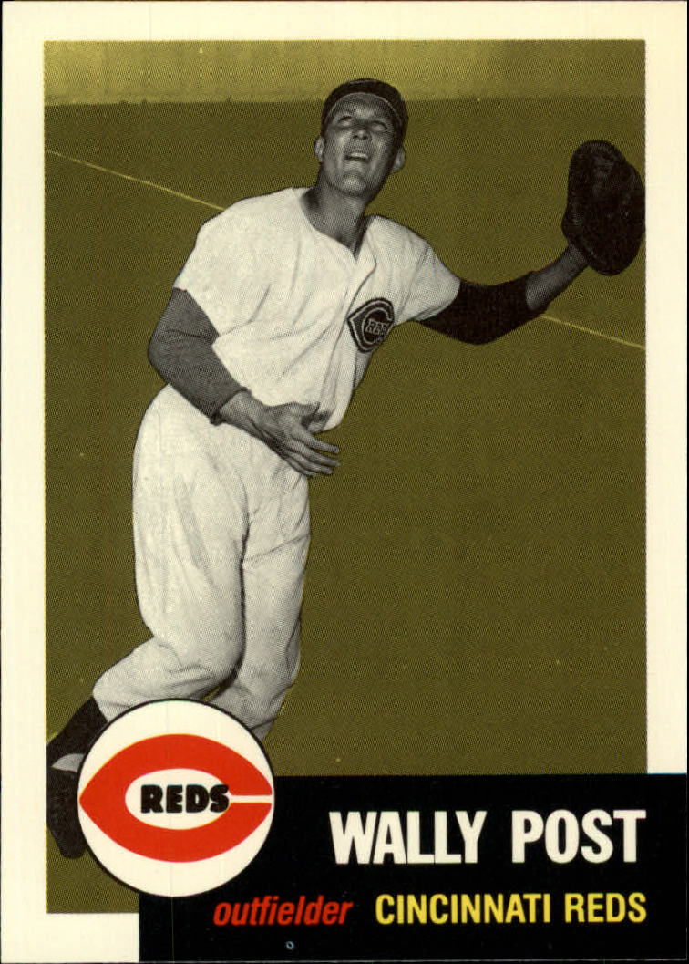 1991 Topps Archives 1953 #294 Wally Post