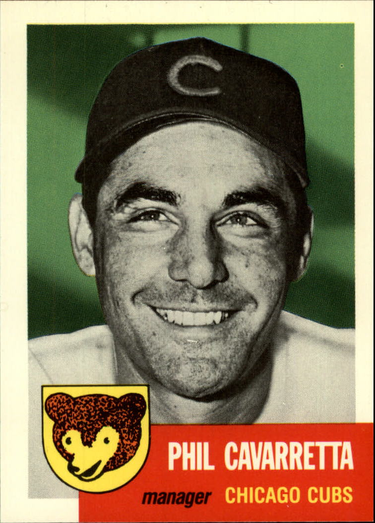 1991 Topps Archives 1953 #295 Phil Cavarretta MG