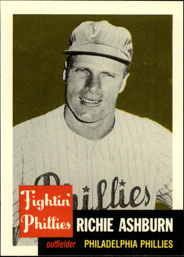 1991 Topps Archives 1953 #311 Richie Ashburn front image