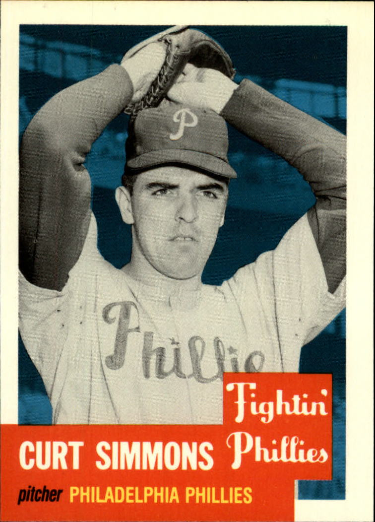 1991 Topps Archives 1953 #318 Curt Simmons
